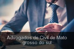 Advogados de Civil de Mato grosso do sul